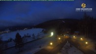 Archived image Webcam Oberwiesenthal Fichtelberg - Hotel Jens Weißflog 22:00
