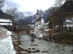 Archiv Foto Webcam Ramsau bei Berchtesgaden - Ortskirche St. Sebastian 02:00