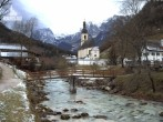 Archiv Foto Webcam Ramsau bei Berchtesgaden - Ortskirche St. Sebastian 06:00