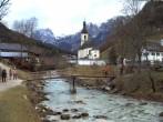 Archiv Foto Webcam Ramsau bei Berchtesgaden - Ortskirche St. Sebastian 08:00