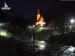 Archiv Foto Webcam Ramsau bei Berchtesgaden - Ortskirche St. Sebastian 18:00