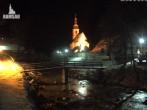 Archiv Foto Webcam Ramsau bei Berchtesgaden - Ortskirche St. Sebastian 20:00