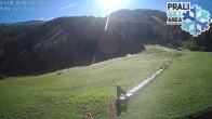 Archiv Foto Webcam Skigebiet Prali - Baby Ghigo Piste 04:00