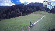 Archiv Foto Webcam Skigebiet Prali - Baby Ghigo Piste 06:00
