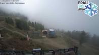 Archiv Foto Webcam Berghütte La Capannina - Skigebiet Prali 06:00