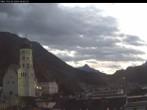 Archiv Foto Webcam Sicht auf Laurentiuskirche und Rathaus in Bludenz (Vorarlberg, Österreich) 01:00