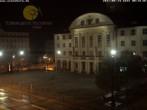 Archiv Foto Webcam Bahnhofplatz Sonneberg - Blick auf das Neue Rathaus 18:00