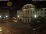 Archiv Foto Webcam Bahnhofplatz Sonneberg - Blick auf das Neue Rathaus 20:00