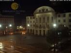 Archiv Foto Webcam Bahnhofplatz Sonneberg - Blick auf das Neue Rathaus 22:00