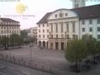 Archiv Foto Webcam Bahnhofplatz Sonneberg - Blick auf das Neue Rathaus 00:00