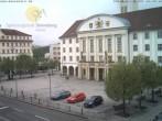 Archiv Foto Webcam Bahnhofplatz Sonneberg - Blick auf das Neue Rathaus 02:00