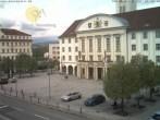 Archiv Foto Webcam Bahnhofplatz Sonneberg - Blick auf das Neue Rathaus 06:00