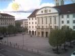 Archiv Foto Webcam Bahnhofplatz Sonneberg - Blick auf das Neue Rathaus 08:00