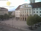 Archiv Foto Webcam Bahnhofplatz Sonneberg - Blick auf das Neue Rathaus 12:00