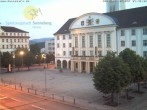 Archived image Webcam Bahnhofplatz Sonneberg - View of the Town Hall 22:00
