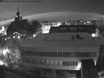 Archiv Foto Webcam Östersund: Blick aufs Rathaus 20:00