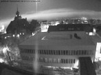 Archiv Foto Webcam Östersund: Blick aufs Rathaus 22:00