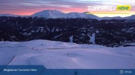 Archiv Foto Webcam Live Cam Turracher Höhe: Panoramablick Kornock 01:00