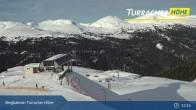 Archiv Foto Webcam Live Cam Turracher Höhe: Panoramablick Kornock 07:00