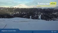 Archiv Foto Webcam Live Cam Turracher Höhe: Panoramablick Kornock 09:00