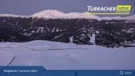 Archiv Foto Webcam Live Cam Turracher Höhe: Panoramablick Kornock 13:00