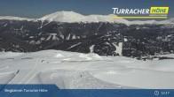 Archiv Foto Webcam Live Cam Turracher Höhe: Panoramablick Kornock 12:00