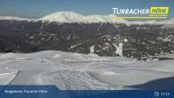Archiv Foto Webcam Live Cam Turracher Höhe: Panoramablick Kornock 16:00