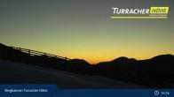 Archiv Foto Webcam Live Cam Turracher Höhe: Panoramablick Kornock 19:00