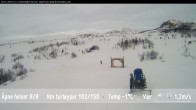 Archiv Foto Webcam Skigebiet Beitostolen: Ola-Express 04:00