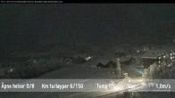 Archiv Foto Webcam Skigebiet Beitostolen: Radisson Blu 22:00