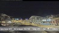 Archiv Foto Webcam Skigebiet Beitostolen: Talstation 22:00