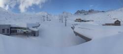 Archiv Foto Webcam Samnaun Alp Trida: Talstation Viderjochbahnen 02:00