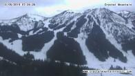 Archiv Foto Webcam Gold Hills Crystal Mountain Resort 01:00