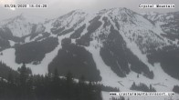 Archiv Foto Webcam Gold Hills Crystal Mountain Resort 18:00