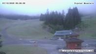 Archiv Foto Webcam Crystal Mountain Resort: Tal 23:00