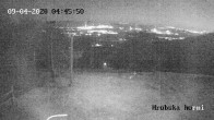 Archiv Foto Webcam Skigebiet Sturmer Bournak - Hrobska horni Abfahrt 22:00