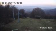 Archiv Foto Webcam Skigebiet Sturmer Bournak - Hrobska horni Abfahrt 00:00