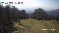 Archiv Foto Webcam Skigebiet Sturmer Bournak - Hrobska horni Abfahrt 04:00