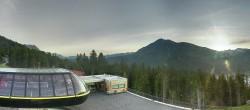 Archived image Webcam Schöneben ski resort: View base station Höllental 00:00