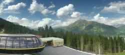 Archived image Webcam Schöneben ski resort: View base station Höllental 10:00