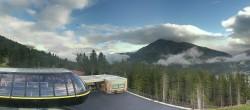 Archived image Webcam Schöneben ski resort: View base station Höllental 02:00