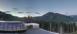 Archived image Webcam Schöneben ski resort: View base station Höllental 14:00