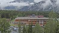 Archiv Foto Webcam Ehrwald: Bereich Talstation Tiroler Zugspitzbahn 04:00