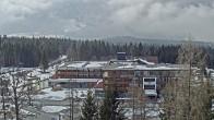 Archiv Foto Webcam Ehrwald: Bereich Talstation Tiroler Zugspitzbahn 06:00