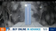 Archived image Perisher: Snow Stake Webcam 22:00
