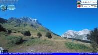 Archiv Foto Webcam Skigebiet Prati di Tivo - Blick auf die Piste 02:00