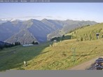 Archived image Webcam Saalbach Hinterglemm - Mountain Hotel Seidl Alm 00:00