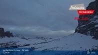 Archiv Foto Webcam Val Gardena - Piz Sella Bergstation 19:00