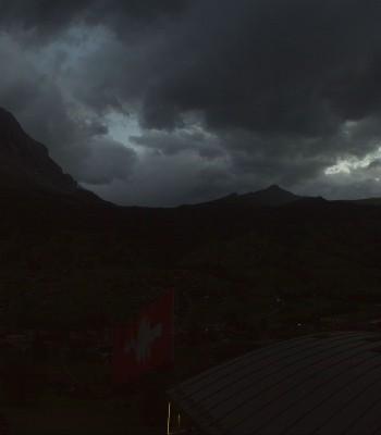 360 Grad Panoramablick vom Hotel Belvedere Grindelwald