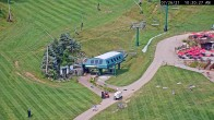 Archived image Webcam Seven Springs Mountain Resort: Base Station Polar Bear Express 04:00